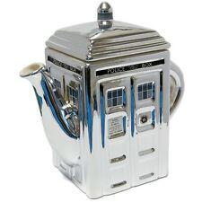 Doctor Who - TARDIS Tea Pot (Silver)
