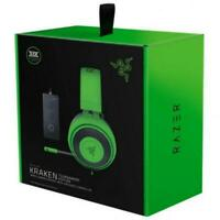 New Razer Kraken Tournament Edition Green Wired Headsets PC PS4 Xbox One