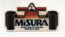 Adesivo Formula 1 MISURA sponsor Anni 80 F1 World Championship sticker 1 PROMO
