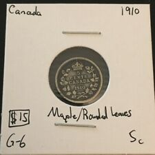 1910 5 Cent Canada  MUST SEE  No Reserve!  (Coin #260)