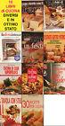 Lotto stock 10 libri differenti di cucina ricette pane dolci diete conserve