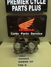 1984 HONDA SABRE V 700 S REMANUFACTURED KEIHIN CARBS CARBURETORS READY TO RUN