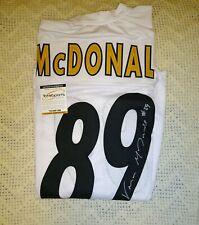 Vance McDonald Autographed Jersey Pittsburgh Steelers TSE COA Custom XL