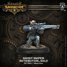 Warmachine: Retribution of Scyrah Ghost Sniper Solo (PIP35021) NEW