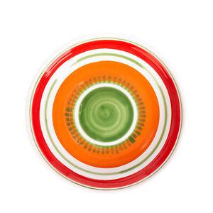 CERAMICHE DE SIMONE ISCHIA Soup Plate HANDMADE Ceramic Round Made in Italy