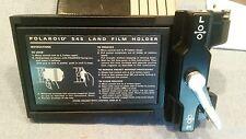 Vintage Polaroid Land Film Holder in original box with manuals