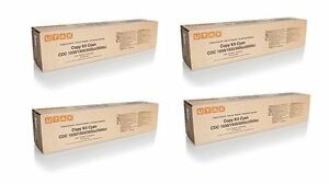 4 Original Toner UTAX CDC-1930 CDC1935 / 653010010 653010011 653010014 653010016