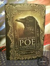 NEW Edgar Allan Poe Complete Tales & Poems Hardcover - Usher, Raven, Rue Morgue