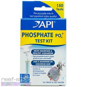 API Phosphate Test Kit 150 Tests for Freshwater and Marine Aquariums PO4