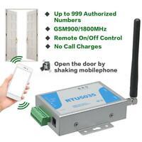 RTU5035 GSM Toröffner Relais Schalter Telefon Funkfernbedienung Türsteuerung