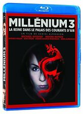 Millenium 3 La Reine Dans Palais Des Courants D' Air BLU RAY - Brand New