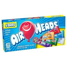 Airheads Assorted (3.3oz) 93.5g Theater Box Air Head American Sweets