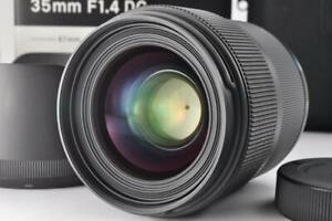 [Near Mint w/Box] Sigma Art 35mm F/1.4 DG HSM Lens For Nikon From Japan
