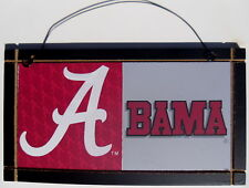Alabama Crimson Tide University College Licensed Wood Sign Sport Fan Plaque NCAA