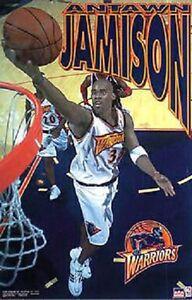 2001 Antawn Jamison Golden State Warriors Original Starline Poster OOP