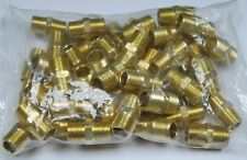 """New listing Brass Fittings: Brass Hex Nipple Size 3/8"""" Quantity of 50"""