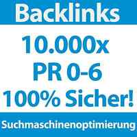 10000 Backlinks PR 0-6 DoFollow/NoFollow | SEO, Linkaufbau für Webprojekt