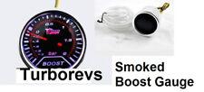 PEUGEOT 206 306 307 406 207 SMOKED TURBO BOOST GAUGE