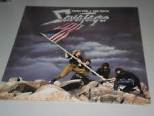 SAVATAGE - FIGHT FOR THE ROCK - 1986 - ATLANTIC LP -