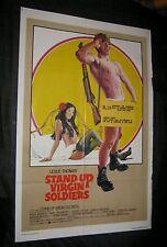 Original STAND UP, VIRGIN SOLDIERS U.S. Printed International 1 Sheet