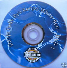 Shinja Buke Ryu Kenpo Foundational White Belt DVD