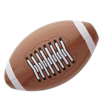 Inflatable American Football  Sport Theme Fancy Dress Accessory rugby