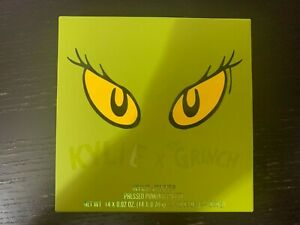 🔥IN HAND *100% AUTHENTIC* Kylie x The Grinch Pressed Powder Palette Cosmetics🔥