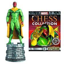 Eaglemoss Chess NEW * Vision * #23 White Rook Marvel Comics Avengers Magazine