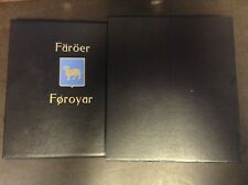 Faroe Islands 1940 to 2006 Davo Hingless Album With Binder & Dustcase