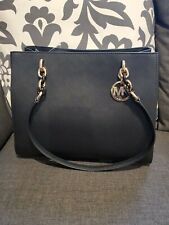 Michael Kors Sofia Shoulder Tote, Size Large - Black Saffiano