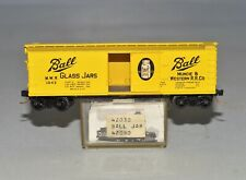 N Scale Kadee (MTL) 42030 - MWR 1042 Ball Glass Jars 40' Single Door Boxcar