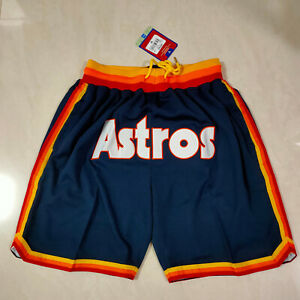 Hot Selling Houston Astros Blue Pocket Baseball Shorts Size: S-XXL