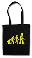 THE BIG BLACK ROBOT EVOLUTION II BANG THEORY Hipster Shopping Cotton Bag