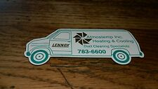 Vintage Atmostemp Inc. Heating & Cooling Lennox Duct Cleaning Specialist Magnet