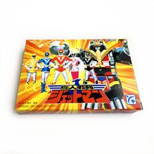 CHOUJIN SENTAI JETMAN - Empty box replacement custom case, Famicom game Rangers
