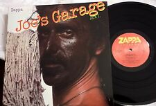 CLEAN LP Frank Zappa - Joe's Garage Act I. ZAPPA RECORDS ZRZ 1-1603 NM Gatefold