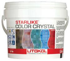 Fuge Glas Mosaik Starlike Crystal Transparent durchsichtig Litokol C.350 - 2,5kg