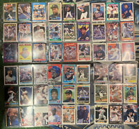 54 Card Kirby Puckett baseball collection lot Minnesota Twins all different 1987