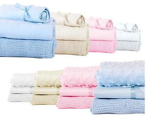 Baby Bedding Starter Bundle Blanket Sheet Set Moses / Cot Basket Starter Bedding