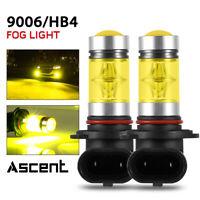 9006 HB4 LED Fog Light Kit Amber For Ram Pickup 1500-3500w/projector 2017-2013