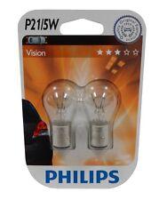 Philips 12499B2 blister de 2 ampoules P21/5W 12V pour clignotants   - C2966