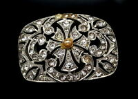 Art Deco Rhinestones brooch