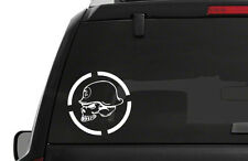 Skull Metallic Bumper Stickers Graphics Decals EBay - F250 decalsmulisha skullxwindow bed decal decals f f ram