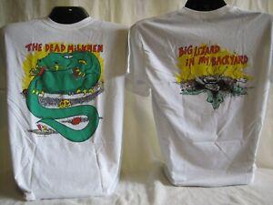 Dead Milkmen T-Shirt Tee Punk Rock Music Band Apparel Philadelphia White New 12
