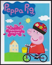 Peppa Pig Singing Musical Post Office Pack contains 2 x Stamp Mini Sheets