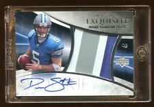 2007 EXQUISITE DREW STANTON RC AUTO #D /225 PATCH LOGO 3 COLOR  BEAUTY  HOT AUTO