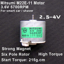 Mitsumi M22E-11 Motor Large Torque Strong Magnetic 6-Pole Rotor For Car/Shaver