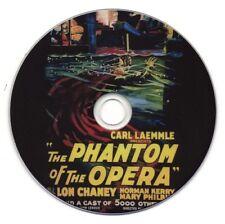 The Phantom of the Opera DVD (1925) Lon Chaney Original Film (Excellent Quality)
