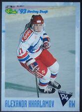 NHL 105 Alexandr Kharlamov CSKA Moskva/Russian Classic Hockey Draft 1993/94