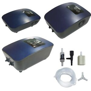 AQUARIUM AIR PUMPS WITH FULL BATTERY BACK UP (Ideal in emergencies / transport)